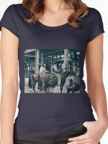 Cattle Drive 14 Women's Fitted Scoop T-Shirt