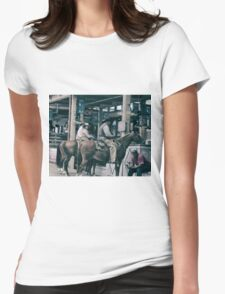 Cattle Drive 14 Womens Fitted T-Shirt