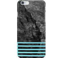 Bench Back, Rock Face iPhone Case/Skin