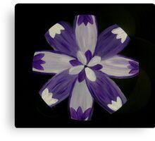 Third Eye Chakra Mandala Energy Painting  Canvas Print