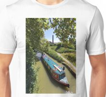 The Kennet & Avon Canal, Devizes, Wiltshire, United Kingdom. Unisex T-Shirt