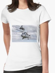 AgustaWestland Wildcat HMA2 & Apache AH1 Helicopters Womens Fitted T-Shirt