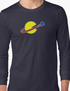 Lego Space Pac-Man (Scared Ghost) Long Sleeve T-Shirt