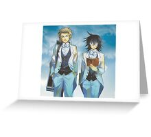 Pandora Hearts - Elliot & Leo Nightray Greeting Card