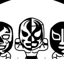 mexican wrestling lucha libre3 Sticker