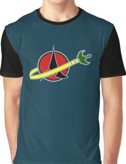 Building Bricks Klingon Bird Of Prey Graphic T-Shirt