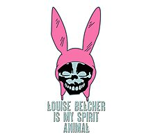 Louise Belcher: Skull Spirit Animal (version seven) Photographic Print