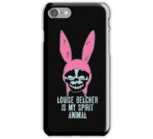 Louise Belcher: Skull Spirit Animal (version seven) iPhone Case/Skin