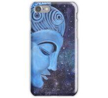 Spiritual  Blue Buddha  iPhone Case/Skin