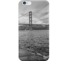 Black and White Golden Gate Bridge iPhone Case/Skin