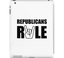 Republicans Rule iPad Case/Skin