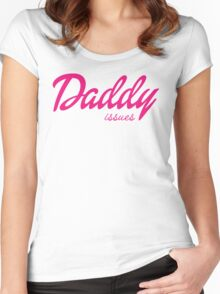 Daddy Issues Women's Fitted Scoop T-Shirt