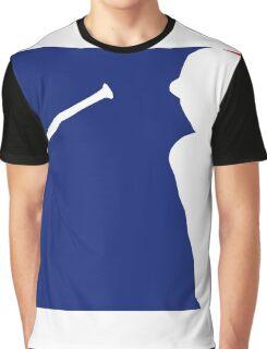 Jose Bautista bat flip MLB logo Graphic T-Shirt