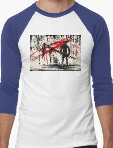 Shinigami: Reaper of Souls Men's Baseball ¾ T-Shirt