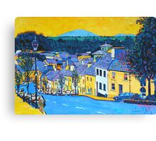 Westport High Street, County Mayo, Ireland Canvas Print