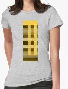 """""""bumble bee"""" abstract Womens Fitted T-Shirt"""