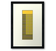 """""""bumble bee"""" abstract Framed Print"""