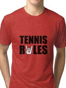 Tennis Rules Tri-blend T-Shirt