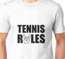 Tennis Rules Unisex T-Shirt