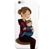 Mom and son  iPhone Case/Skin