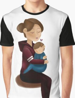 Mom and son  Graphic T-Shirt