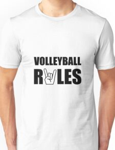 Volleyball Rules Unisex T-Shirt