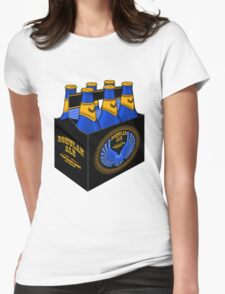 Romulan Ale Six Pack Womens Fitted T-Shirt