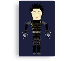 Edward Scissorhands vector Canvas Print