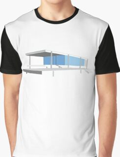 Farnsworth House - Ludwig Mies van der Rohe (1951) Graphic T-Shirt
