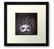 """Masquerade"" Fine Art by LaneyArt  Framed Print"
