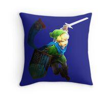 the legend of Zelda - Link fight Throw Pillow