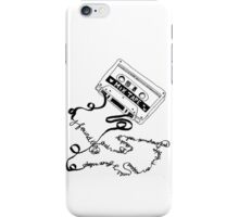 tape deck lyrics iPhone Case/Skin