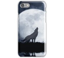 Wolf Moon iPhone Case/Skin