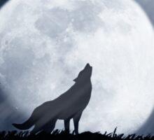 Wolf Moon Sticker