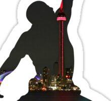 Toronto Raptors basketball silhouette Sticker