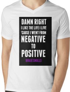 Positive and Negative... Mens V-Neck T-Shirt