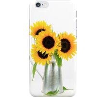 Sunflowers Bouquet. iPhone Case/Skin