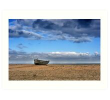 Dungeness Through a Prime Lens 11 Art Print