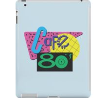 Back To The Cafe 80's iPad Case/Skin