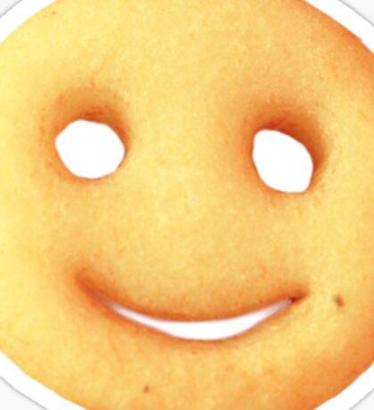 potato smiley Sticker