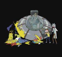 Rick and Morty Crash Gag Baby Tee