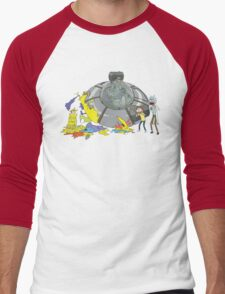 Rick and Morty Crash Gag Men's Baseball ¾ T-Shirt