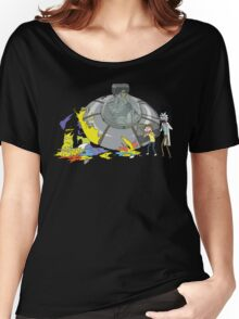 Rick and Morty Crash Gag Women's Relaxed Fit T-Shirt
