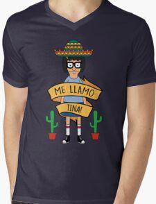 ME LLAMO TINA! Mens V-Neck T-Shirt