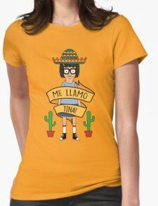 ME LLAMO TINA! Womens Fitted T-Shirt