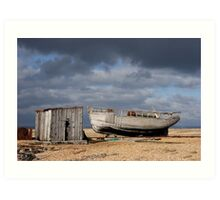 Dungeness Through a Prime Lens 09 Art Print