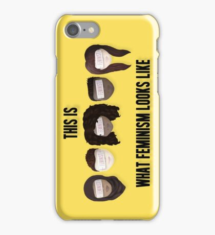 This is what feminism looks like iPhone Case/Skin