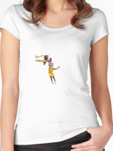 Miley Dunks Women's Fitted Scoop T-Shirt