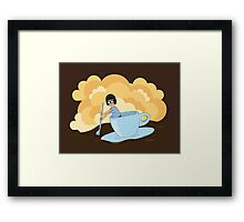 Cup of Tina Framed Print