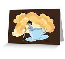 Cup of Tina Greeting Card